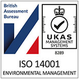 ISO 140001 Certified