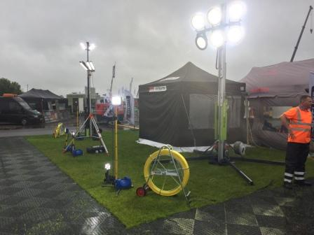 Ritelite exhibits at Plantworx 2019