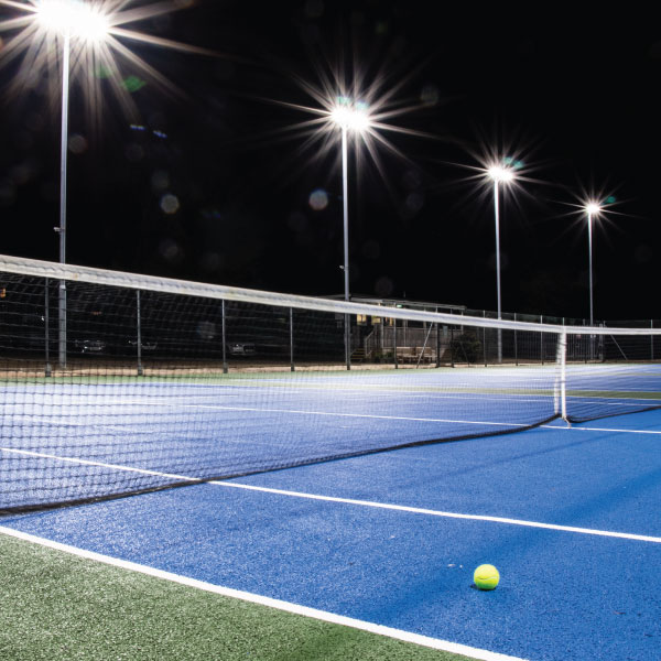 Ritelite takes Stamford Tennis Club into the 21st Century with Upgraded Lighting Project