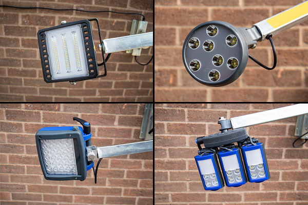 LED Loading Bay Dock Light - Head Options