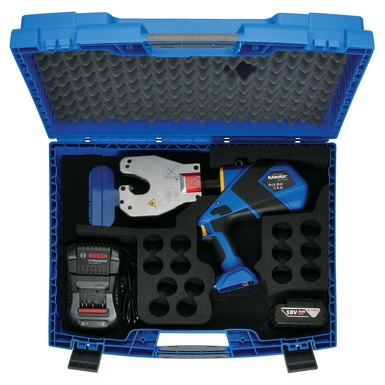 Klauke battery crimp tool kit