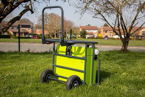 Rite-Power 7000 on grass