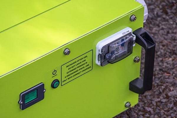 Rite-Power unit top details